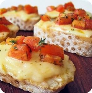 bruschettas queijo